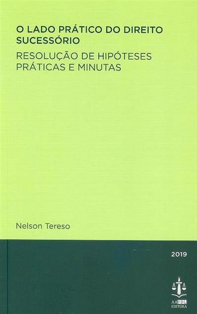 O lado prático do direito sucessório (Nelson Tereso)