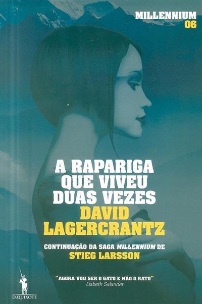 A rapariga que viveu duas vezes (David Lagercrantz)