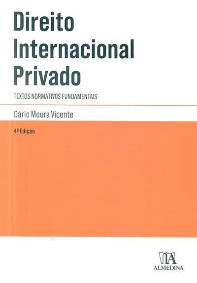 Direito internacional privado (compil. Dário Moura Vicente)