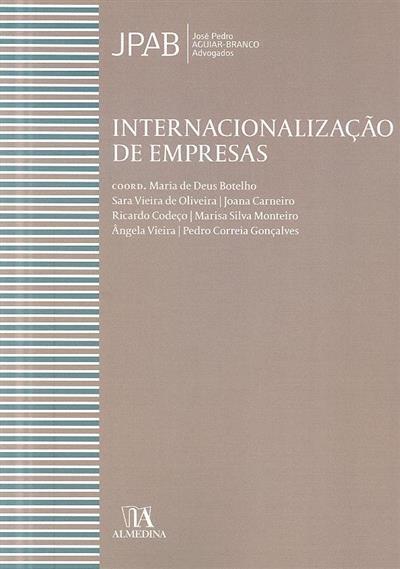 Internacionalização de empresas (Sara Vieira de Oliveira... [et al.])