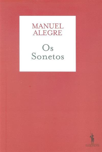 Os sonetos (Manuel Alegre)