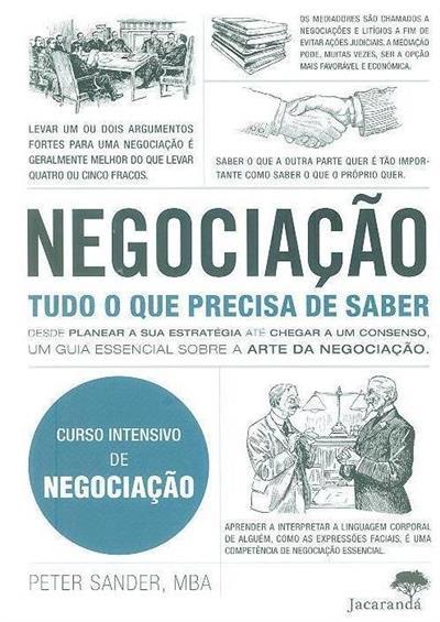 Negociação (Peter Sander)