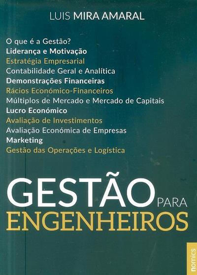Gestão para engenheiros (Luís Mira Amaral)