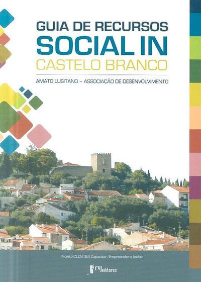 Guia de recursos Social IN Castelo Branco (Amato Lusitano - Associação de Desenvolvimento)