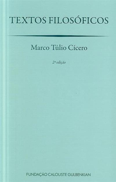 Textos filosóficos (Marco Túlio Cícero)