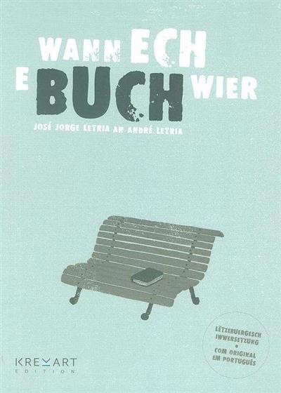 Wann ech e buch wier (texto José Jorge Letria)