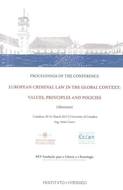 European criminal law in the global context