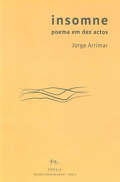 Insomne (Jorge Arrimar)