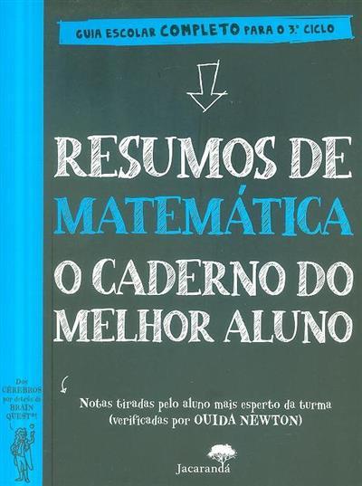 Resumos de matemática o caderno do melhor aluno (texto Altair Peterson)