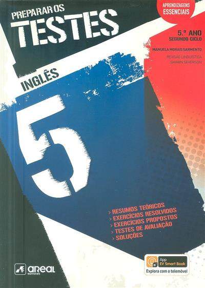 Preparar os testes, inglês 5 (Manuela Morais Sarmento)