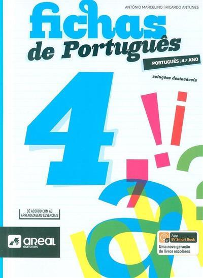 Fichas de português 4 (António Marcelino, Ricardo Antunes)