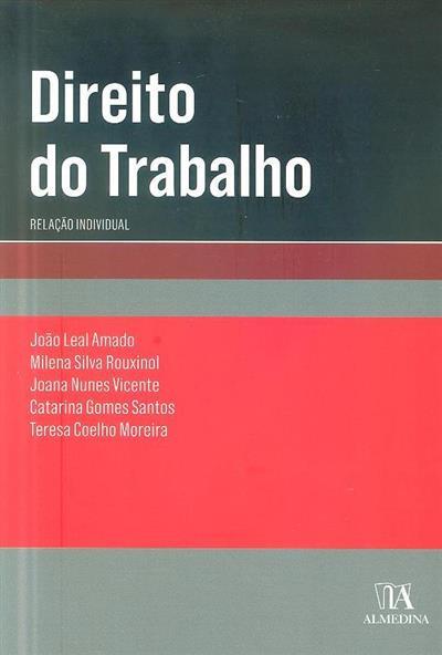 Direito do trabalho (João Leal Amado... [et al.])