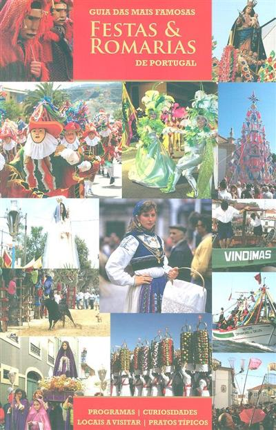 Guia das mais famosas festas & romarias de Portugal (textos, mapas, design Atlântico Press)
