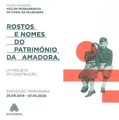 Rostos e nomes do património da Amadora (org. Câmara Municipal da Amadora)