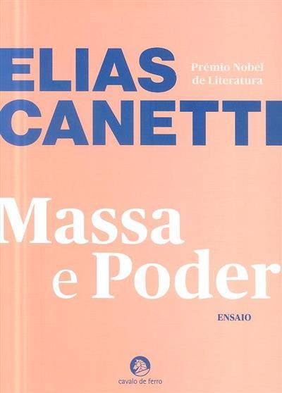 Massa e poder (Elias Canetti)