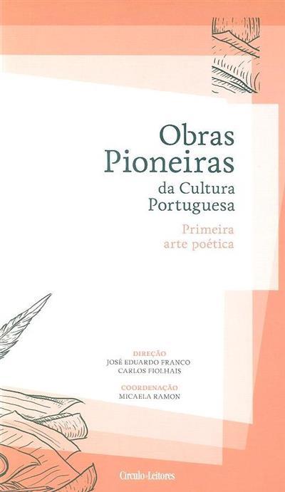 Primeira arte poética (coord. Micaela Ramon)
