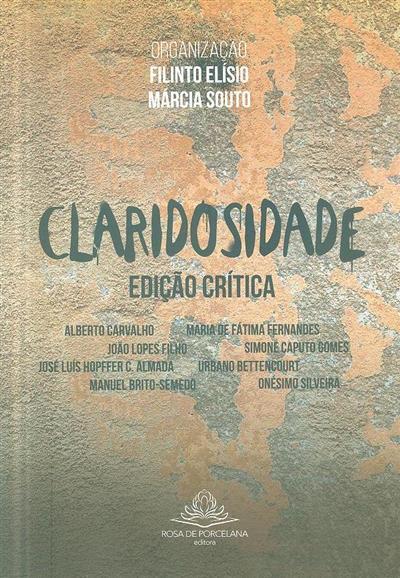 Claridosidade (org. Filinto Elísio, Márcia Souto)