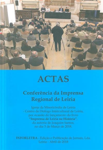 Conferência da Imprensa Regional de Leiria (Joaquim Santos)