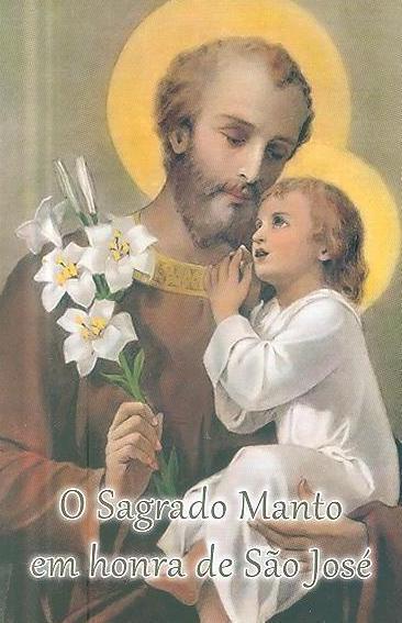 O Sagrado Manto em honra de São José (Cidade do Imaculado Coração de Maria)