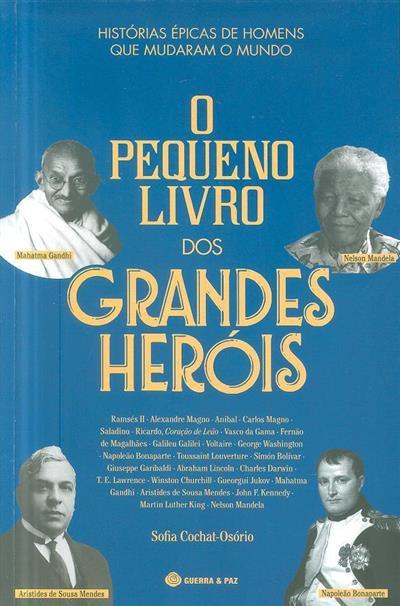 O pequeno livro dos grandes heróis (Sofia Cochat-Osório)