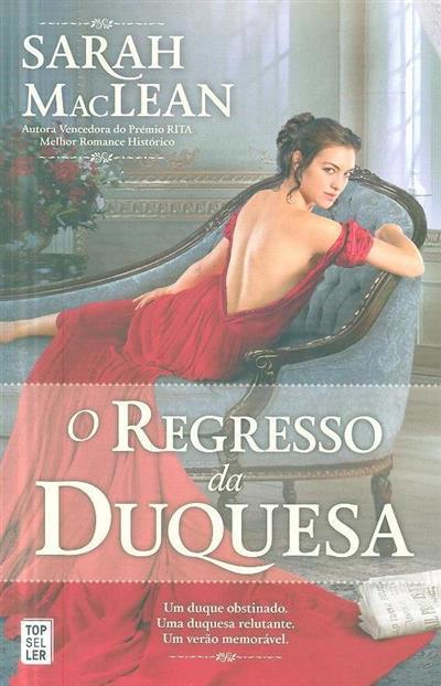 O regresso da duquesa (Sarah MacLean)