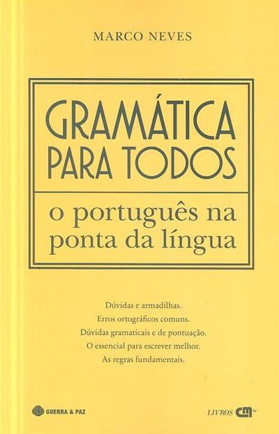 Gramática para todos (Marco Neves)