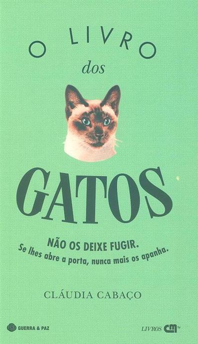 O livro dos gatos (Cláudia Cabaço)