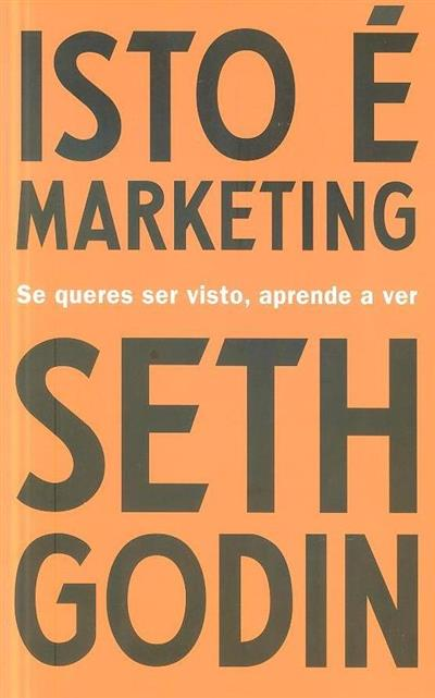 Isto é marketing