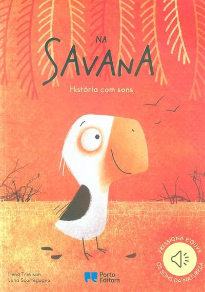 Na savana, história com sons (Irena Trevisan)