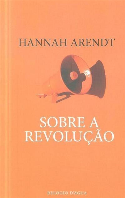 Sobre a revolução (Hannah Arendt)