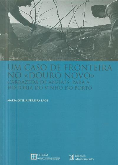 """Um caso de fronteira no """"Douro novo"""" (Maria Otília Pereira Lage)"""