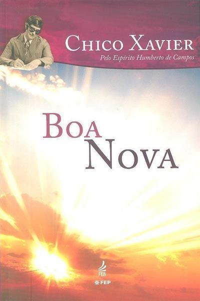 Boa nova (Francisco Cândido Xavier)