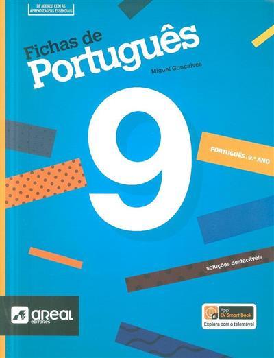 Fichas de português, 9º ano (Miguel Gonçalves)