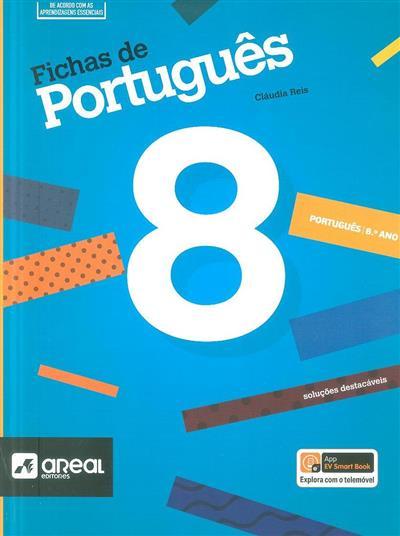 Fichas de português, 8º ano (Cláudia Reis)