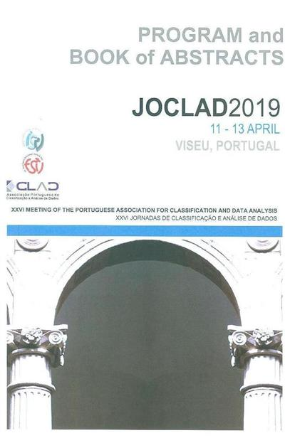 JOCLAD 2019 (XXVI Meeting of the Portuguese Association for Classification and Data Analysis)