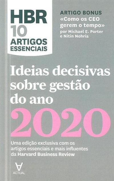Ideias decisivas sobre gestão do ano 2020