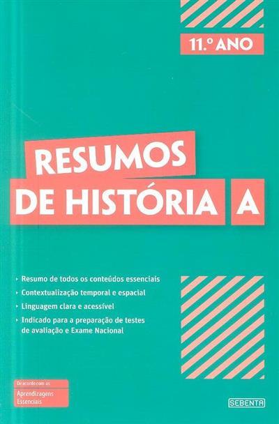Resumos de história A, 11º ano (Lia Ribeiro, António Ribeiro)