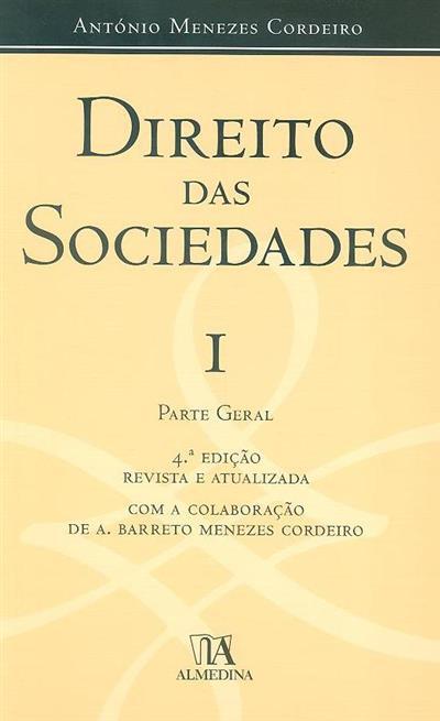 Direito das sociedades (António Menezes Cordeiro)