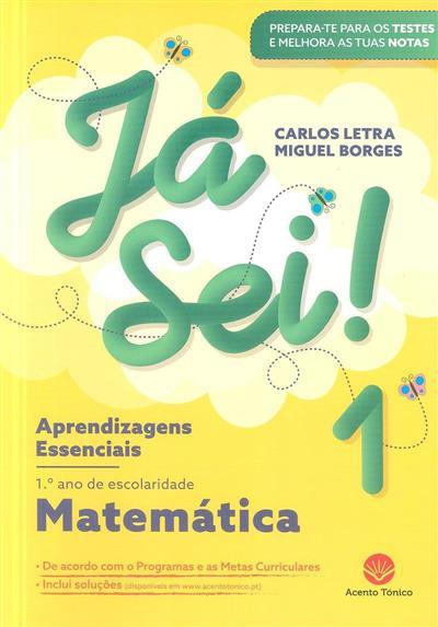 Já sei! 1 (Carlos Letra, Miguel Borges)