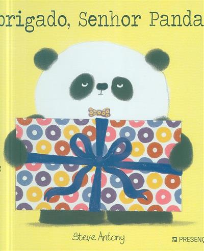 Obrigado, senhor Panda (Steve Antony)