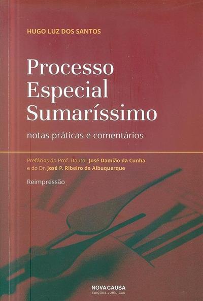 Processo especial sumaríssimo (Hugo Luz dos Santos)