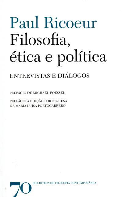 Filosofia, ética e política (Paul Ricoeur)