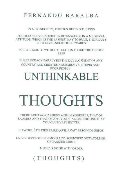 Unthinkable thoughts (Fernando Baralba)