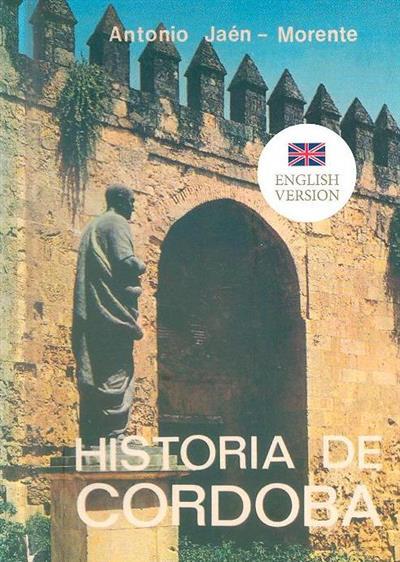 History of Cordoba (Antonio Jaén-Morente)