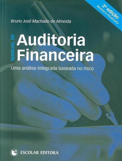 Manual de auditoria financeira (Bruno José Machado de Almeida)