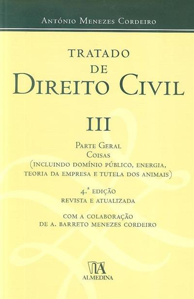 Tratado de direito civil (António Menezes Cordeiro)