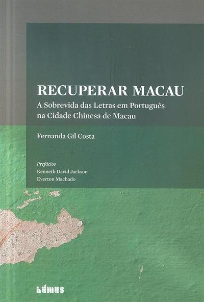 Recuperar Macau (Fernanda Gil Costa)