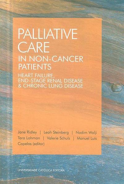Palliative care in non-cancer patients (Jane Ridley... [et al.])