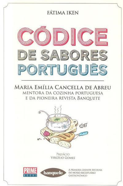 Códice de sabores português (Fátima Iken)