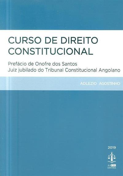 Curso de direito constitucional (Adlezio Agostinho)